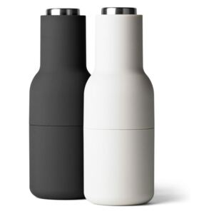 Menu Mlýnky na sůl a pepř Bottle Ash/Carbon, Steel Lid