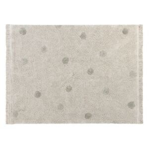 Koberec Hippy Dots Natural olive 120x160