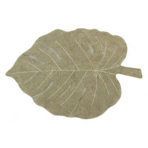 Koberec list Monstera Olive 120x180