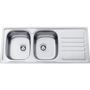 Sinks OKIO 1200 DUO V 0,7mm matný