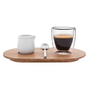 Oval - Espresso set CLAP DESIGN