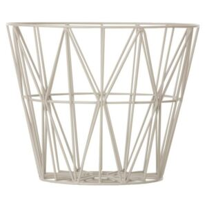 Ferm Living Koš Wire Basket small, grey