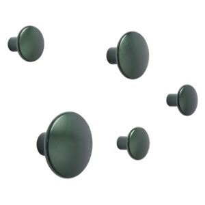 Muuto Sada věšáků The Dots Metal, dark green