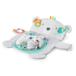 Bright Starts Hrací deka Ours Polaire Tummy Time Prop & Play