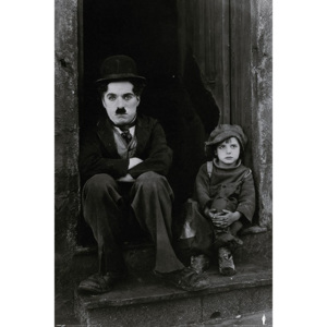 Plakát - Charlie Chaplin (The Kid)
