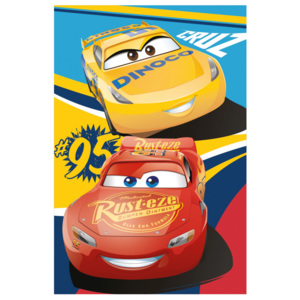 Vesna | Deka fleece Cars 3 100x150 cm