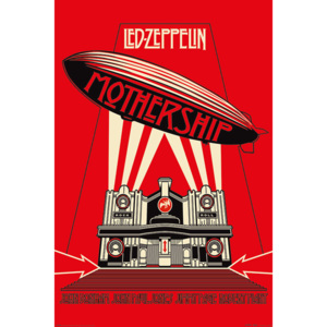 Plakát, Obraz - Led Zeppelin - Mothership Red, (61 x 91,5 cm)