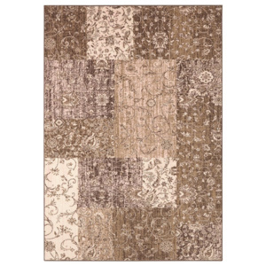 Hanse Home Collection koberce Kusový koberec Celebration 103465 Kirie Brown Creme - 80x150 cm