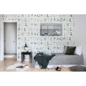 Tapeta Rebel Walls - Floral Alphabet