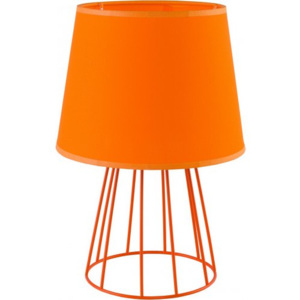 TK Lighting SWEET, stolní lampa, 1xE27 max 60W, ORANGE / ORANGE, KOV