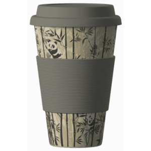 Eco Bamboo Cup Panda 400 ml