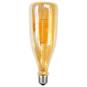 ACA DECOR LED Bottle E27 Gold retro LED žárovka
