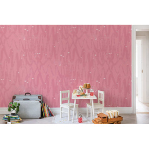 Tapeta Rebel Walls - Pulse of Passion, Pink