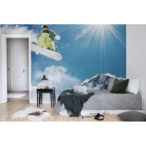 Tapeta Rebel Walls - Snowboard