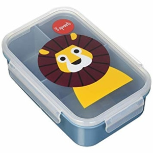 Autronic mt-2362816763 3 Sprouts Lunch Bento Box 16763-Lion