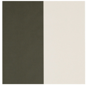 Ferm Living Tapeta Thick Lines, green/off white