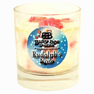 Rudolph's Nose Christmas Crackling Wick Scented Ca