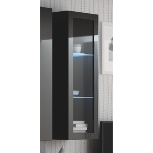 LIVO W-120 hanging cabinet, color: black