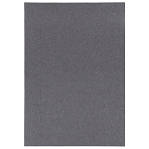 BT Carpet - Hanse Home koberce Kusový koberec BT Carpet 103409 Casual dark grey - 80x150 cm