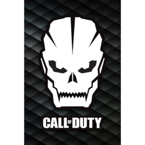 Plakát, Obraz - Call Of Duty - Skull, (61 x 91,5 cm)