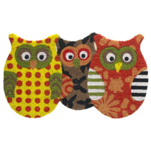 Vopi 147 Ruco Shape 620 Trio Owls Yellow / Orange 147 Ruco Shape 620 Trio Owls Yellow / Orange