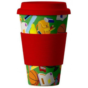 Eco Bamboo Cup School 400 ml