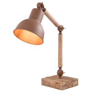 STOLNÍ LAMPA 15x25x45cm/E27/max 1x15W CLAYRE EEF 6LMP555