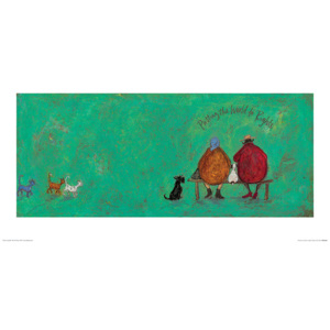 Obrazová reprodukce Sam Toft - Putting the World to Rights, (60 x 30 cm)