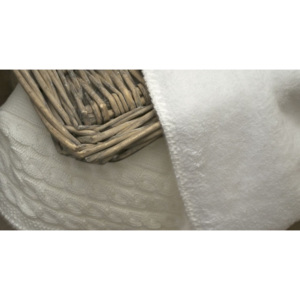 Baby's Only Baby´s Only Cable Chenille Blanket - Dětská deka 14913-Baby Blue 100x130cm