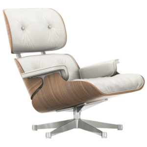 Vitra Křeslo Eames Lounge Chair, white pigmented walnut