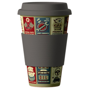 Eco Bamboo Cup Cars 400 ml