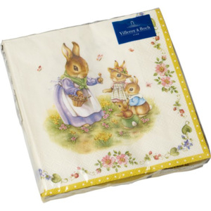 Villeroy & Boch Easter Accessoires ubrousky Easter Family, 33 x 33 cm